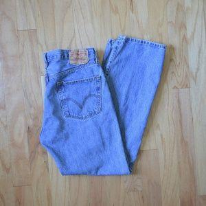 Vintage Levi's 501 Button Fly Men's Jeans